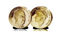 Albert I en Elisabeth set, gouden herdenkingsuitfite, Belgische koningshuis
