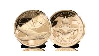Supermarine Spitfire, puur gouden herdenkingsuitgifte, 75ste verjaardag van the battle of britain