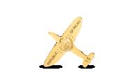 Koop munten online - Gouden munt - Spitfire - 24-karaats goud keerzijde