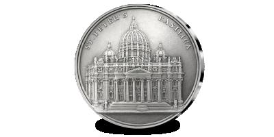 Gegraveerd in Belgie: St Peters Basiliek