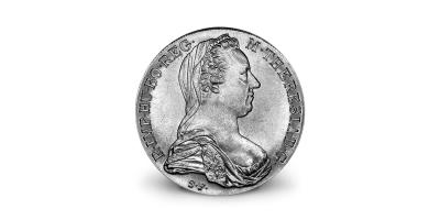 De zilveren Thaler van Keizerin Maria Theresia