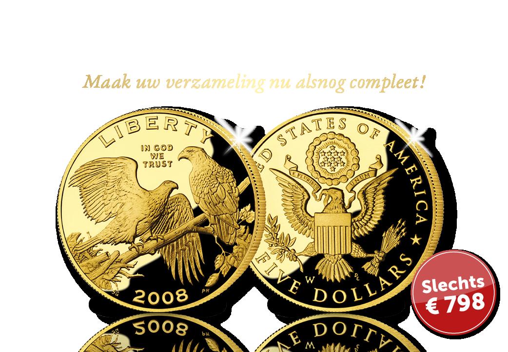 De 5 Dollar type Bald Eagle - must-have voor uw verzamelmap Dollars