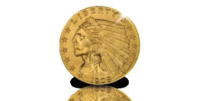 De 2,5 Dollar type Indian Head - must-have voor uw verzamelmap Dollars