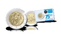 2 euro herdenkingsmunt unicef in proof kwaliteit totaalplaatje