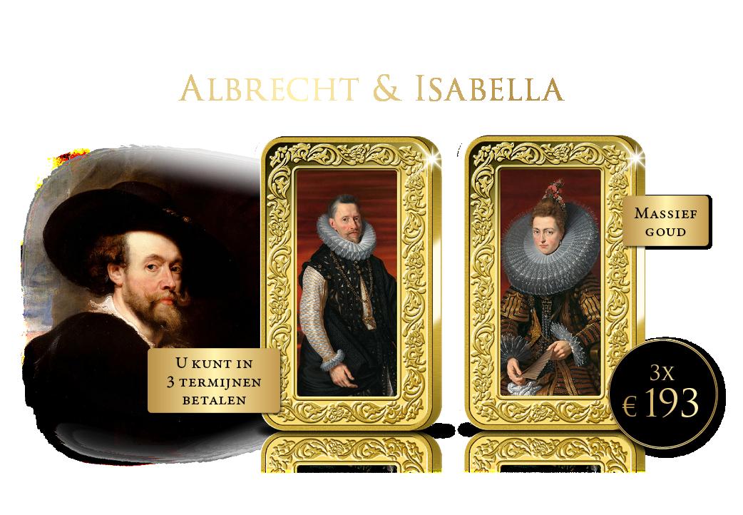 Nieuw! 24-karaats Rubens goudbaren!