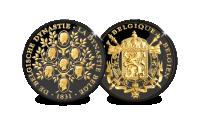 ltd edition koninklijke stamboom in zwartgoud