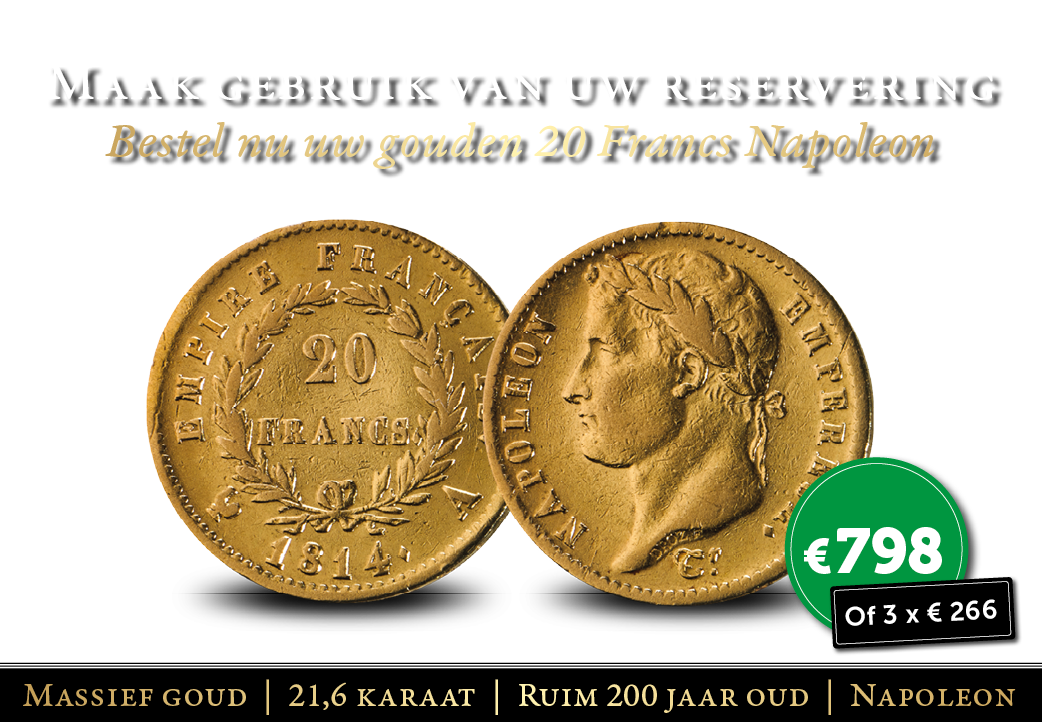 Deze prachtige gouden 20 Franc ligt op u te wachten