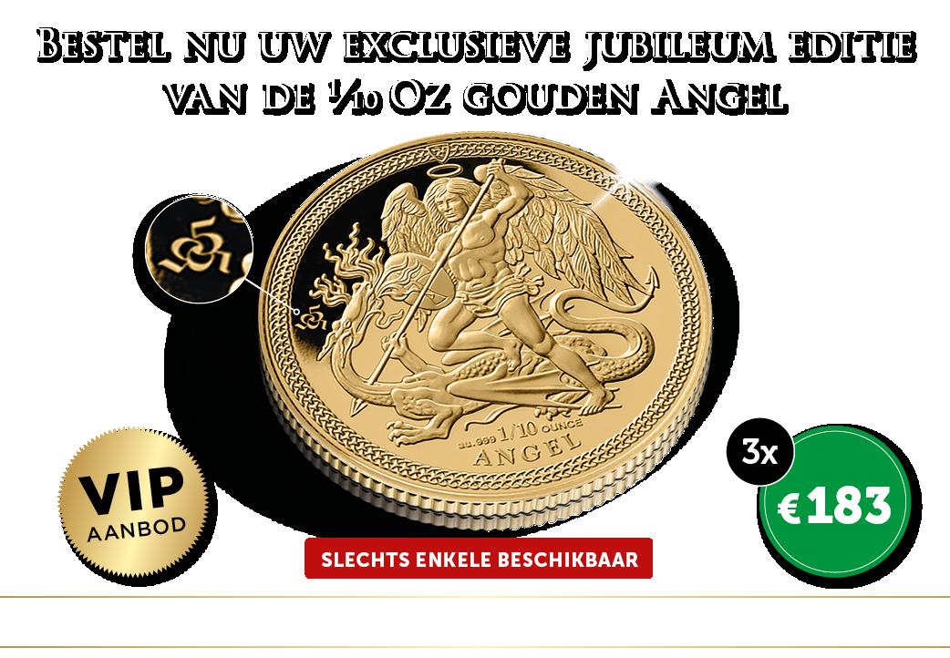 Jubileum editie van de gouden Angel