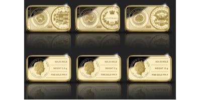 In Gold We Trust presenteert: de Ultieme VIP Gold Rush Set: California – Klondike - Australia