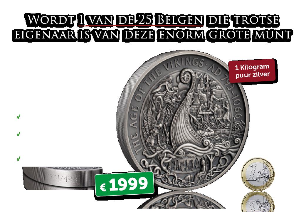 Reserveer vandaag uw exemplaar van deze zeldzame Vikingmunt.