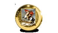 -Napoleon-250-jaar-Half-Crown-Verguld-vz