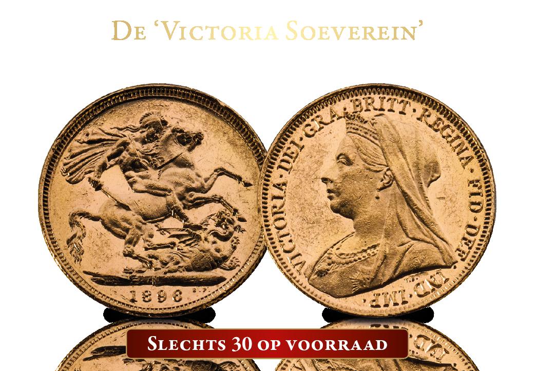 De Victoria Soeverein. Voor u tijdelijk niet €699 euro, maar slechts €349.