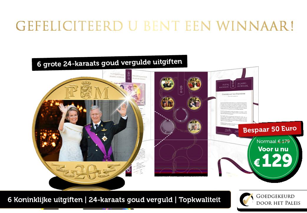 Gefeliciteerd u bent een winnaar!